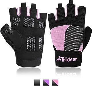 Fitness Handschuhe Anti-Rutsch Gewichtheben Handschuhe f/ür Damen und Herren mit Silikon Polsterun Atmungsaktiv Rongli Trainingshandschuhe Kraftsport
