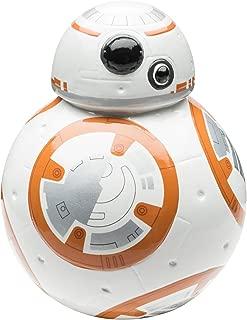 Zak Designs Star Wars Episode 7 Ceramic Piggy Bank, BB-8