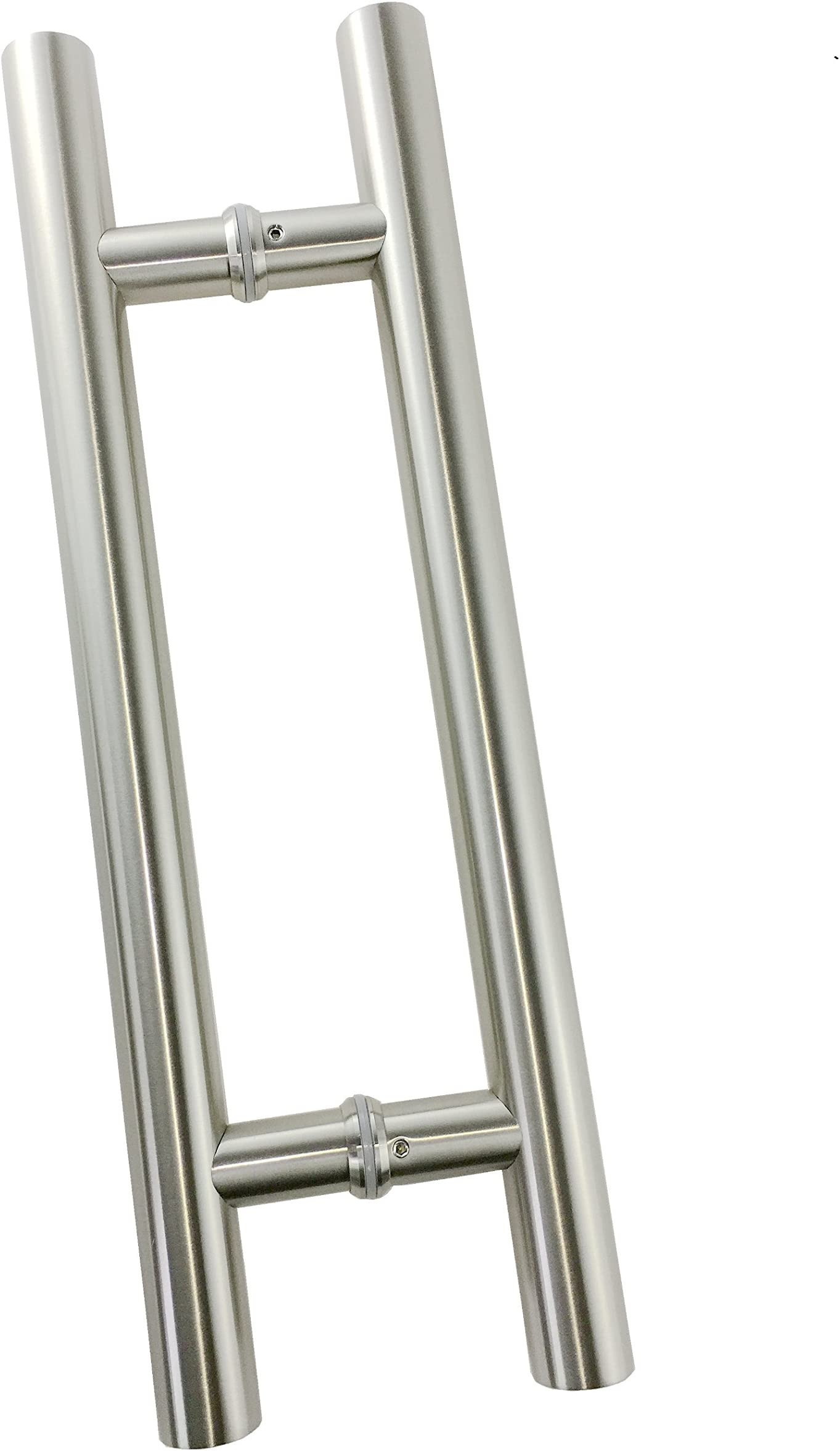 "VRSS 304 Stainless Steel Commercial H-Shape/ Ladder Style Back to Back Push Pull Door Handle (17.7"" Length/1.26"" Diamter)"
