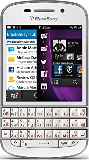Blackberry Q10 SQN100-3 16GB Factory Unlocked GSM Smartphone w/ English + Arabic Keypad - White