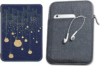 Capa Kindle Paperwhite 10ª geração à prova d'água Lâmpadas Silicone - Função Liga/Desliga - Fechamento magnético + Bolsa S...