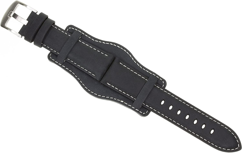 20mm German Military Aviator Watch Strap Leathe San Francisco Mall ...