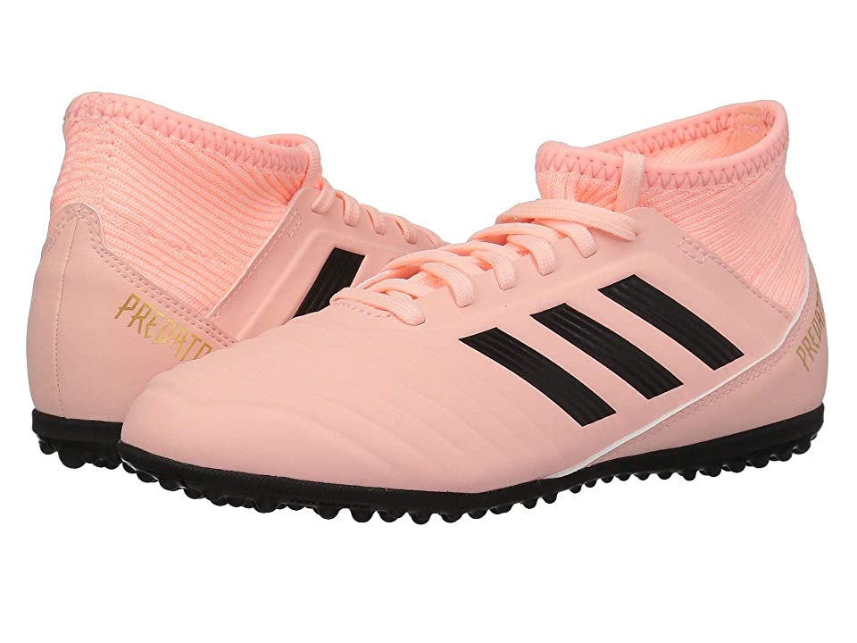 adidas Kids Predator Tango 18.3 TF Soccer (Little Kid/Big Kid) (Clear Orange/Trace Pink) Kids Shoes