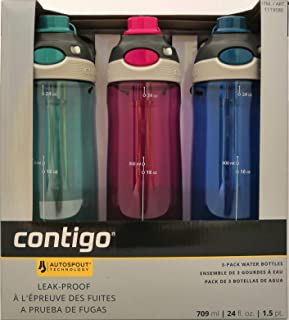 contigo autospout 24oz chug water bottle