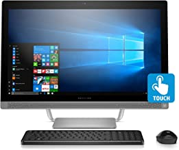 2017 HP Pavilion 27 TOUCH Desktop 500GB SSD WIN 10 PRO (Intel Core i7-7700K processor 4.20GHz TURBO to 4.50GHz, 16 GB RAM, 500 GB SSD, 27