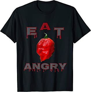 Ghost Pepper Eat Angry  T-Shirt