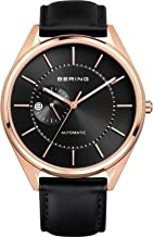Bering Men's Analogue Automatic Watch with Leather Strap 16243-462