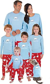 bear cheeks family pajamas