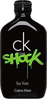 Calvin Klein Perfume - CK One Shock by Calvin Klein - Perfume for Men, 100 ml - EDT Spray