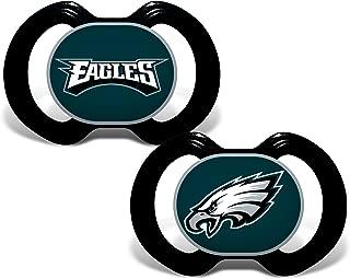 Baby Fanatic NFL Philadelphia Eagles Unisex PHE212Gen. 3000 Pacifier 2-Pack - Philadelphia Eagles, See Description, See Description