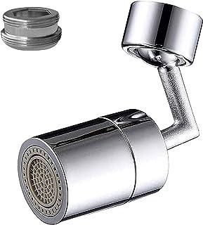 720 graders svängbar kran luftare kran luftare 22 mm intern tråd och extern tråd kök/badrumskran fäste