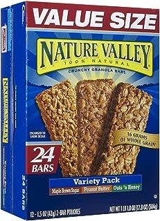 Nature Valley Crunchy Granola Bars, Variety Pack - 0 - 17.8 oz - 24 ct