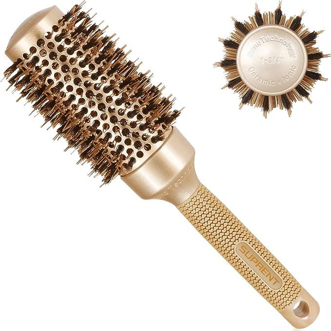 721 opinioni per Spazzola rotonda 43mm, SUPRENT spazzole per capelli con setole di cinghiale
