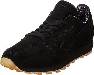 Reebok Men's Classic Leather TDC Fashion Sneaker (12, Black)