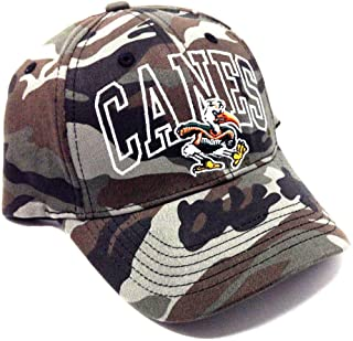 NCAA Wide Out Grey Camo Adjustable Hat