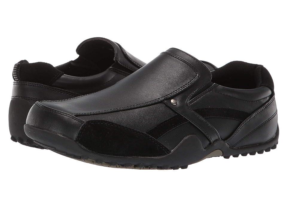 Deer Stags Animal (Black) Men's Slip on Shoes