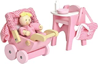 Le Toy Van Dollhouse Furniture & Accessories, Nursery Set