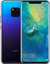 هاتف هاواوي ميت 20 برو بشريحتي اتصال - سعة 128 جيجابايت، الجيل الرابع ال تي اي، ازرق
