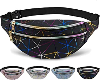 Fanny Packs for Women,Fashion Waist Bag Pack for Teens Girls Boys, Cute Belt Bag Casual Hip Bum Bag for Travel Walking sho...