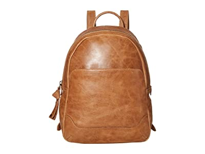 Frye Melissa Medium Backpack (Beige) Backpack Bags
