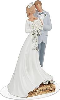 Enesco Legacy of Love Wedding Bride and Groom Newlywed Cake Topper