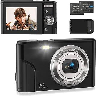 Digitalkamera 1080P, Fotokamera Kompaktkamera 36MP 2,4