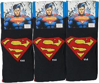 3x Pairs of Mens Boys Superman Novelty Socks/UK 6-11 Eur 39-45