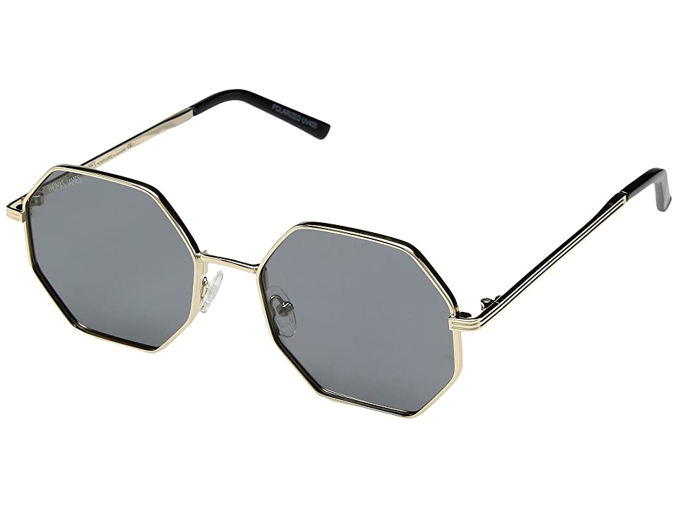 7cf479aa6f THOMAS JAMES LA by PERVERSE Sunglasses Fortune (Gold Black Lens) Fashion  Sunglasses