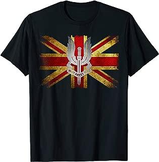 Who Dares Wins Awesome Union Jack I Love England Tees