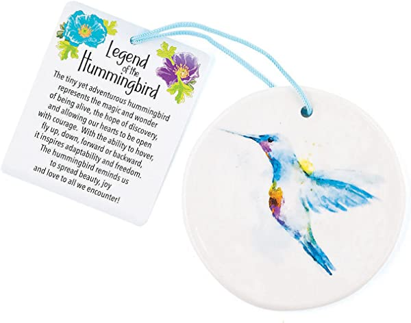 Fun Express Legend Of The Hummingbird Ornament For Christmas Home Decor Ornaments Novelty Christmas 12 Pieces