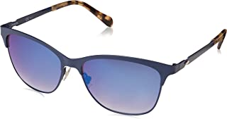 Fossil Women's Fos 2078/s Square Sunglasses, MTT
