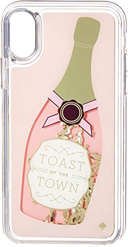 Kate Spade New York - Champagne Glitter Phone Case for iPhone® X