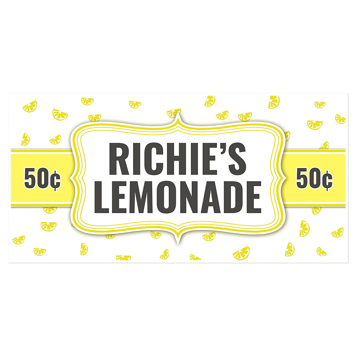 Ice Cold Ranking TOP19 Lemonade Cheap SALE Start Stand Sign Personalized Banner