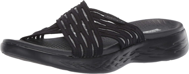 Skechers Womens Go Run 600 - Sunrise Slide Sandal