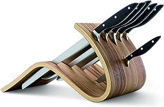 Berkel Why Walnut Block + Essentium 6pc Knife Set