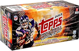 2013 Topps NFL Football Factory Sealed Hobby Version Set Which includes 5 Bonus Orange Parallel Cards