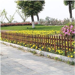 ZHANWEI Garden Fence Picket Fencing Gardening Outdoor Courtyard Wall Flower Bed Edging Decor Animal Barrier, 2/3/5 Packs, ...