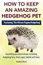 How to Keep an Amazing Hedgehog Pet. Featuring 'The African Pygmy Hedgehog' !!: Everything you Need to Know, Including, Hedgehog Facts, Food, Cages, Habitat and More
