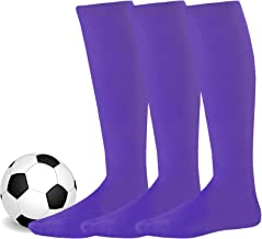 Soxnet Acrylic Unisex Soccer Sports Team Cushion Socks 3 Pack