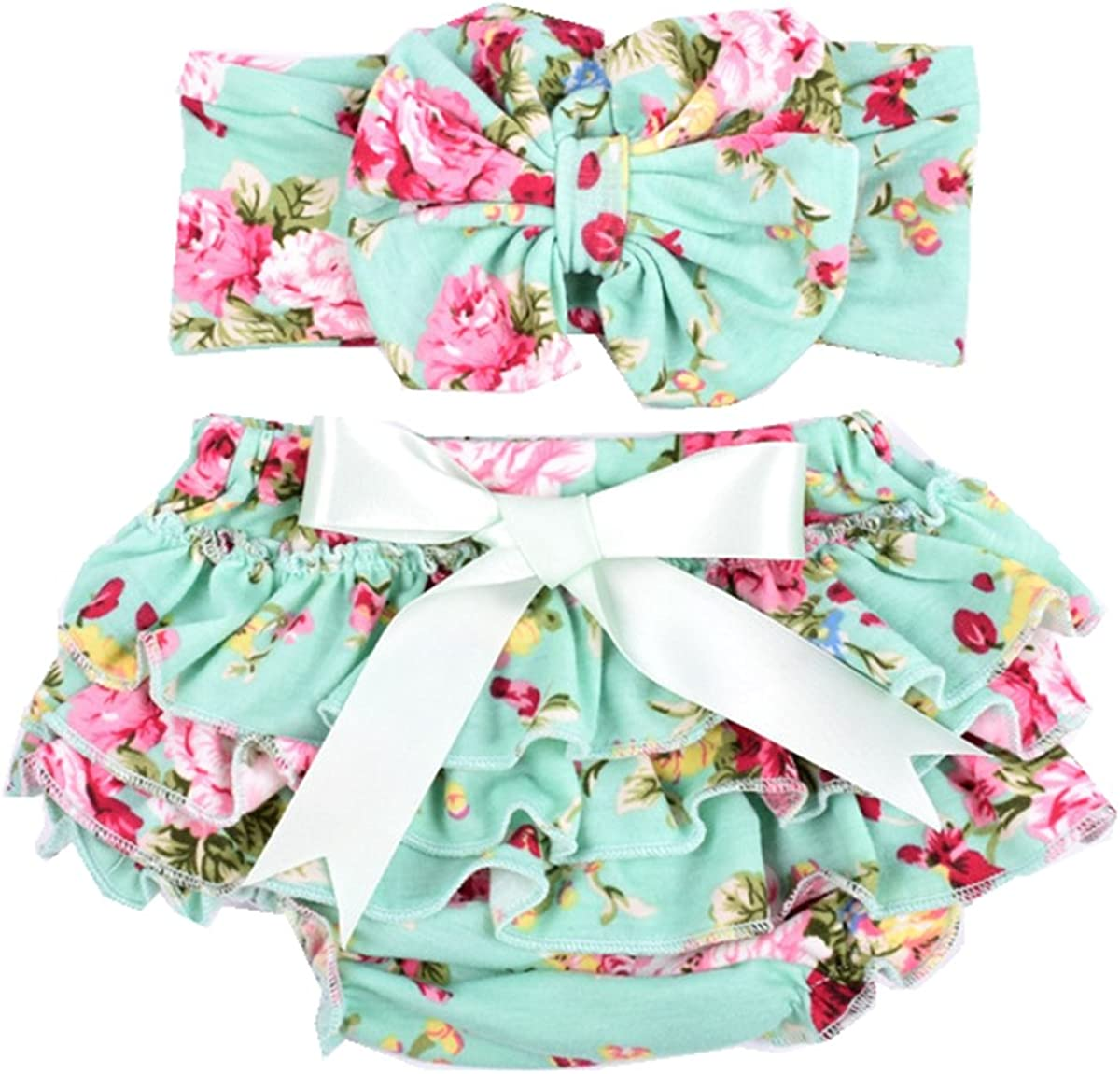 Complete Free Shipping Baby Girls Diaper Cover Outfit Cotton and Newborn H High quality new Bloomer Soft