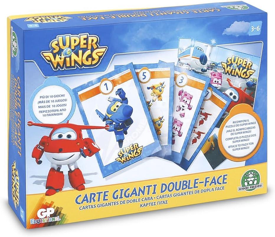 Super Wings Giochi Preziosi Set of Educational Games Board with a Tripod
