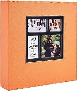 Benjia Album Photo 1000 Pochettes 10x15cm Photos Grand Format Famille Mariage Classique Couverture Lin (100 Feuilles, 200 ...