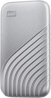 WD ポータブルSSD 2TB シルバー USB3.2 Gen2 Type-c My Passport SSD 最大読取り1050 MB/秒 外付けSSD /5年保証 WDBAGF0020BSL-WESN