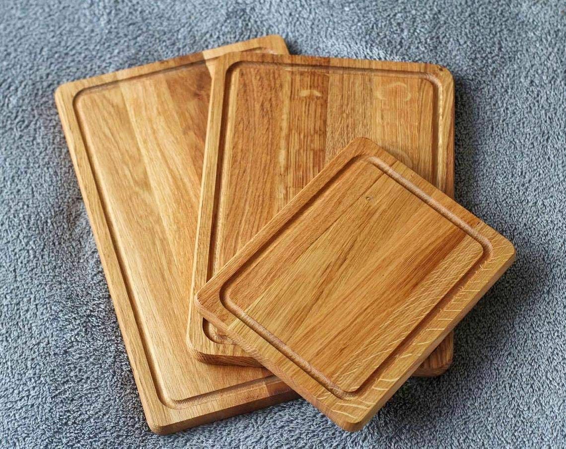 Oak cutting board set Solid Wood Mail Recommended order cheap Cutting Board Kitchen for