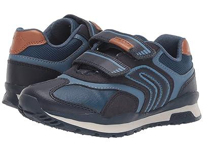 Geox Kids Jr Pavel 23 (Little Kid/Big Kid) (Navy) Boys Shoes
