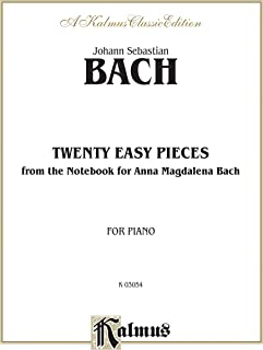 Bach 20 Pcs.Notebook Anna Mag.