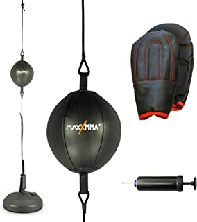 MaxxMMA Double End Striking Punching Bag Kit