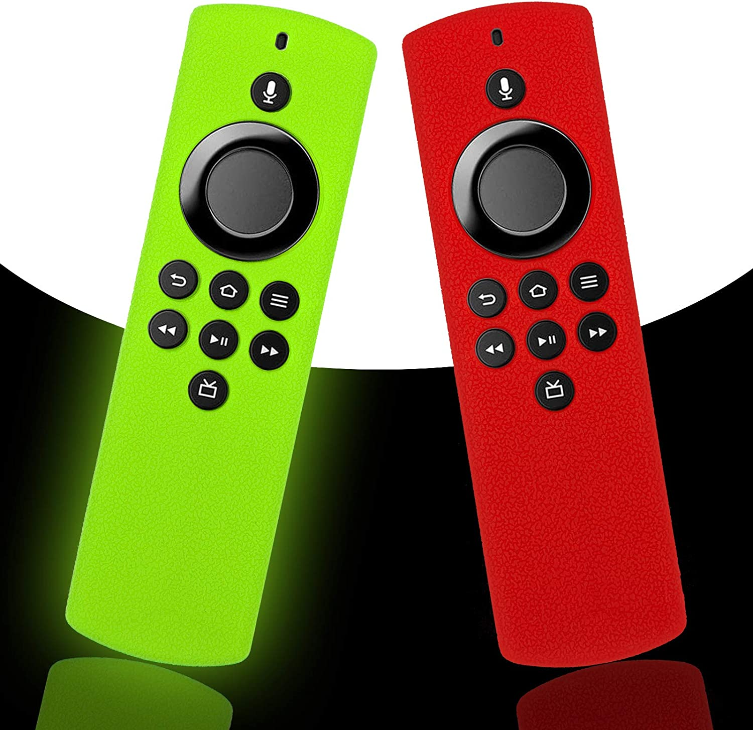 2-Pack Glow Remote Cover Replacement for Voi In stock TV Lite Arlington Mall Alexa Stick