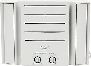 Ar Condicionado de Janela Springer 10.000 BTU/h Q/f Mec Springer, Midea, Branco, 220V