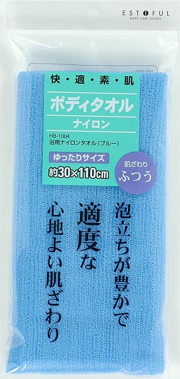ペルメルペット博物館EF.浴用タオル ナイロン ふつう ブルー